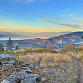 Penticton In The Distance by Tara Turner