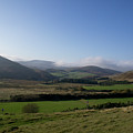 Pentlands With Clouds And Some Sun. by Elena Perelman