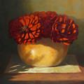 Peonies by Linda Jacobus
