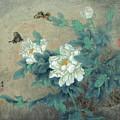 Peony Butterfly by Dong Xiyuan