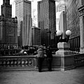 People And Skyscrapers by Frank J Casella