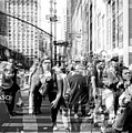 People Of New York City Double Exposure by John Rizzuto