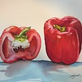 Pepper And Half by Diane Ziemski