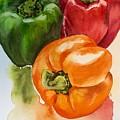 Peppers 3 by Diane Ziemski