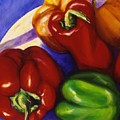 Peppers In The Round by Shannon Grissom