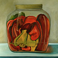 Peppers by Leah Saulnier The Painting Maniac