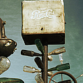 Pepsi Bottle Tree - Route 66 by Glenn McCarthy Art and Photography