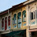 Peranakan Architecture Design Houses And Windows Joo Chiat Singapore by Imran Ahmed