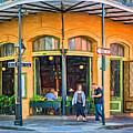 Pere Antoine Restaurant - Paint by Steve Harrington