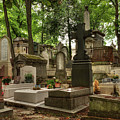Pere Lachaise Cemetery 001 by Lance Vaughn