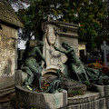 Pere Lachaise Tomb by Ingrid Dendievel