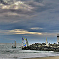 Perfect Beach And Smooth Sailing by Amy Delaine