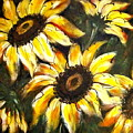 Perfect Beauty Sunflower by Natalie Holland
