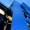 Perfect Blue Buildings by Gary Everson