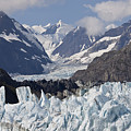 Perfect Day At Margerie Glacier by Stan and Anne Foster