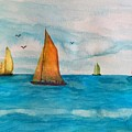 Perfect Sailing Day by Anne Sands