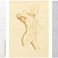 Perfume Of Venus - Triptych - Homage Rodin by David Hargreaves