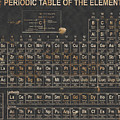 Periodic Table Grunge Style by Christopher Williams