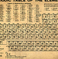 Periodic Table  of the Elements by Bill Cannon