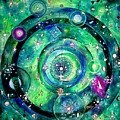 Universe Inside Of Electrons. Periodic Table Of The Elements by Sofia Metal Queen