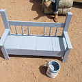 Periwinkle Bench by Frederick Holiday