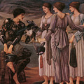 Perseus And The Sea Nymphs by Edward Burne-Jones