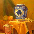 Persian Vase And Fruit Jar by David Dozier