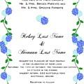 Personalized Wedding Invitations by Priscilla Wolfe