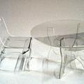 Perspex Furniture by Ky Wilms