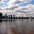 Perth City From South Perth Foreshore  by Carolyn Parker