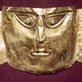 Peru: Chimu Gold Mask by Granger