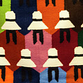 Peru Hat Tapestry by Bob Phillips