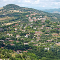 Perugia Countryside by Sally Weigand