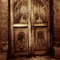 Peruvian Door Decor 11 by Xueling Zou