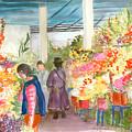 Peruvian Flower Market by Nancy Brennand
