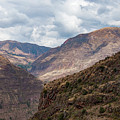 Peruvian Mountains From Pisac Site by Bob Phillips