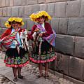 Peruvian Native Costumes  by Bob Phillips