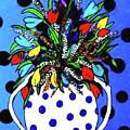 Petals And Dots by G Hanson