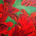 Petals Of Fire by Herschel Fall