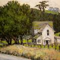 Petaluma Farmhouse by David LeRoy Walker