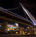 Petco Park And The Pedestrian Bridge by Nathan Rupert