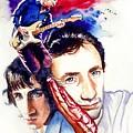 Pete Townshend by Ken Meyer
