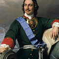Peter I The Great by Delaroche