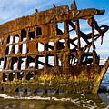 Peter Iredale Shipwreck - Oregon Coast by Gary Whitton