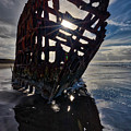 Peter Iredale Shipwreck by Rob Daugherty