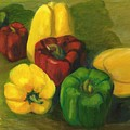 Peter Pifer Has A Lot Of Peppers To Choose From by Gloria Condon