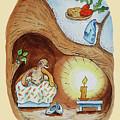 Peter Rabbit Watercolour Illustration II by Irina Sztukowski