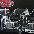 Peterbilt Trucks by Richard Le Page