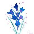 Petit Bouquet by Genevieve Chausse