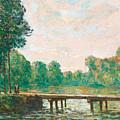 Petit Pont Sur L'orvanne by Alfred Sisley
